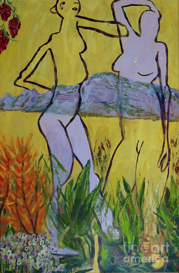 Les nymphs d'Aureille by Paul McKey