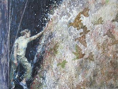 Birds Painting - Les Oiseaux by Joyce Polance