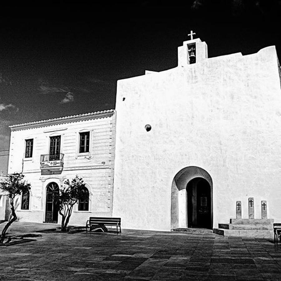 Balearics Photograph - Fortified Church, Formentera by John Edwards