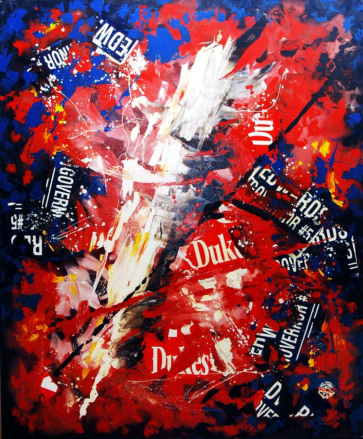 David Duke Painting - Lesser Of Two Evils by Charles Simms