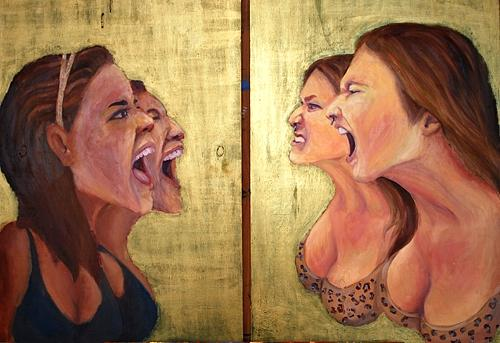 Let It Out Painting by Carter Neal