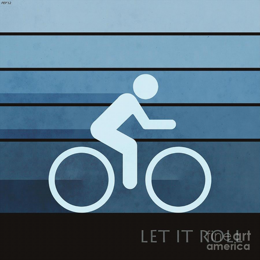 Sports Digital Art - Let It Roll by Phil Perkins