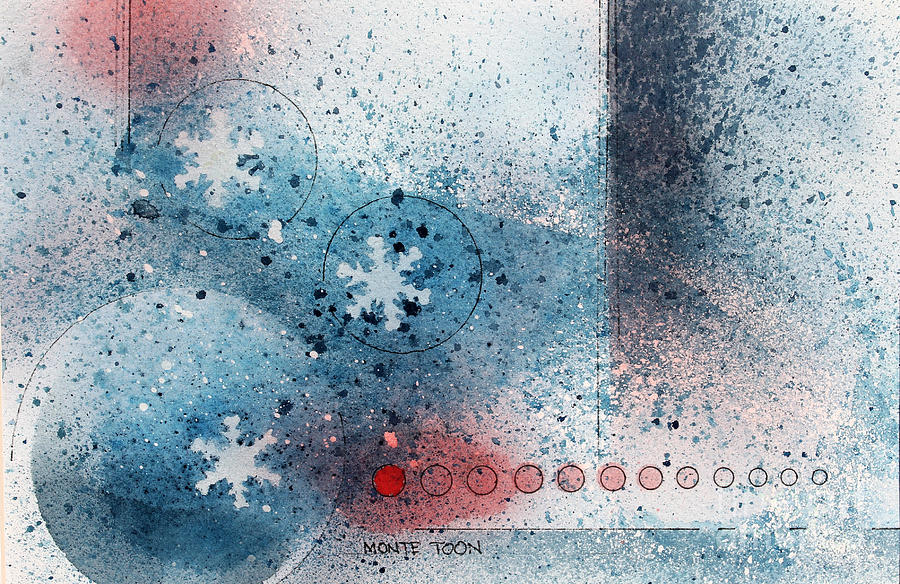 Let It Snow Painting by Monte Toon