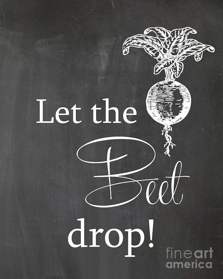 81d36fb5ac47 Let The Beet Drop Photograph by Jennifer Mecca