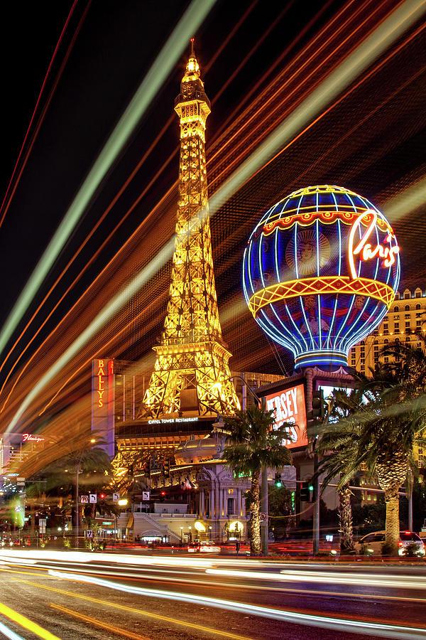 Las Vegas Skyline Photograph - Let The Fun Begin by Az Jackson