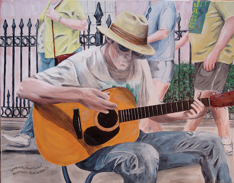 Kevin Callahan Painting - Let The Good Times Roll-new Orleans Blues by Kevin Callahan