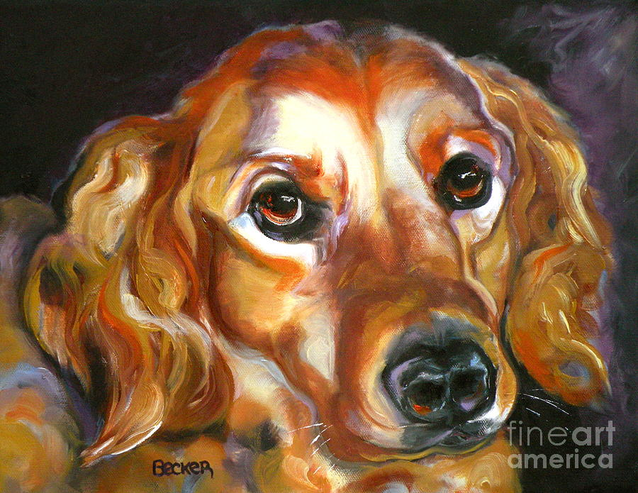 Oil Painting - Let The Sunshine In by Susan A Becker