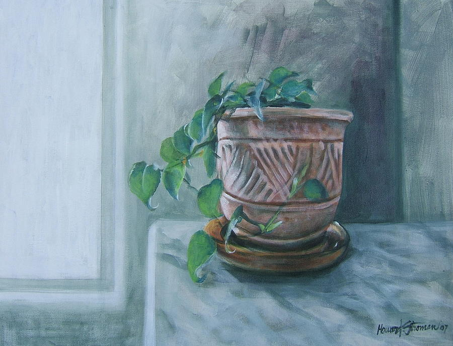 Still Life Painting - Let There Be Light by Howard Stroman