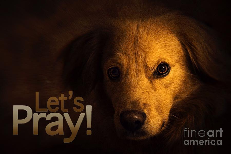 Let Us Pray-3 by Kathy Tarochione