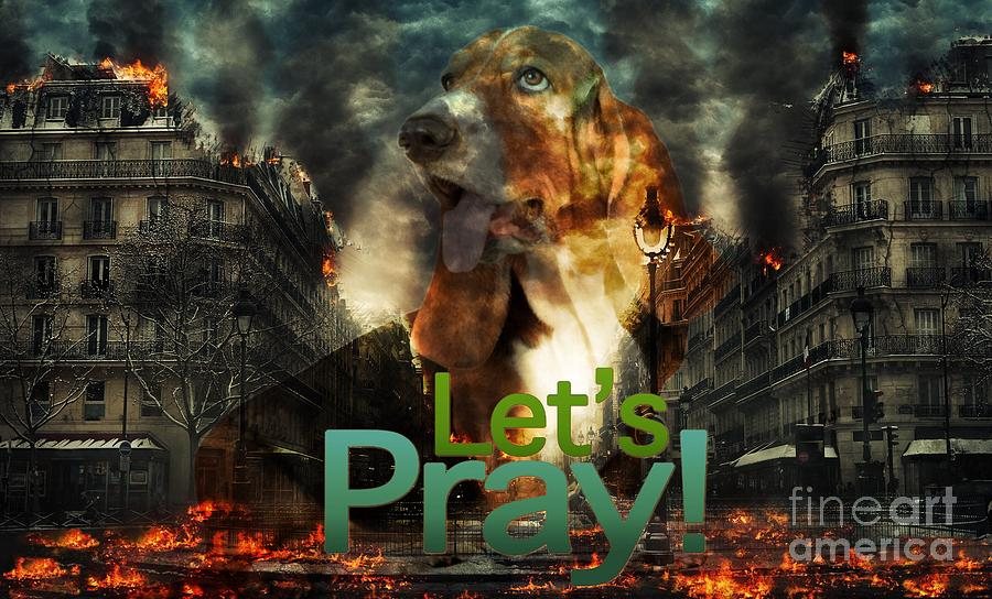 Let Us Pray by Kathy Tarochione