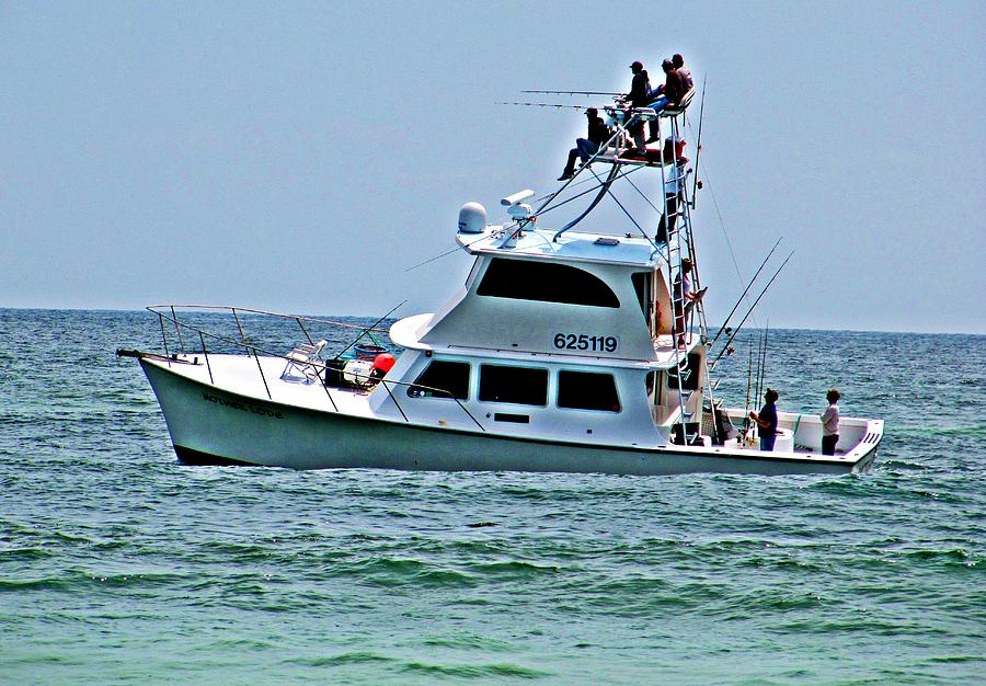 Fishing Boat Photograph - Lets Fish by Pam Utton
