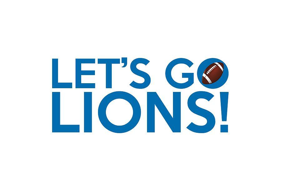 Let S Go Lions Painting By Florian Rodarte