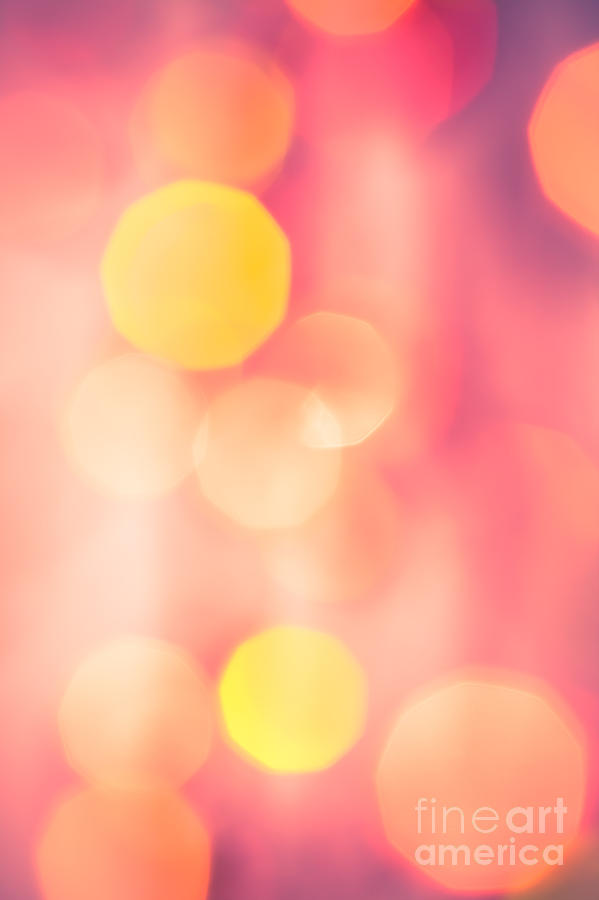 Abstract Photograph - Lets Party by Jan Bickerton