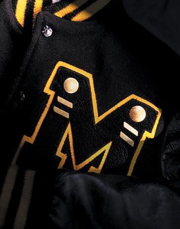 Jacket Photograph - Letter Jacket by William Love