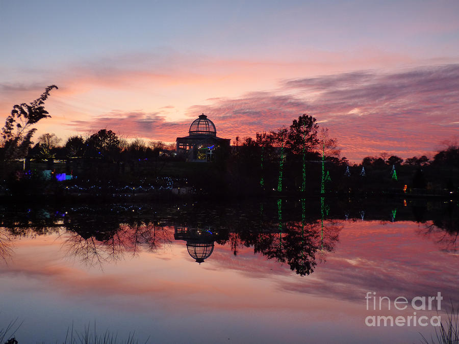 Lewis Ginter Sunset by Jean Wright