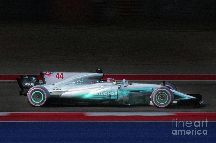 Cota Photograph - Lewis Hamilton Formula 1 by Sean Wray