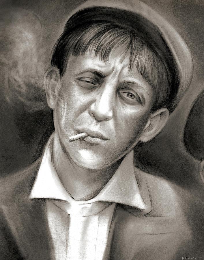 Lewis Hine Tribute Drawing