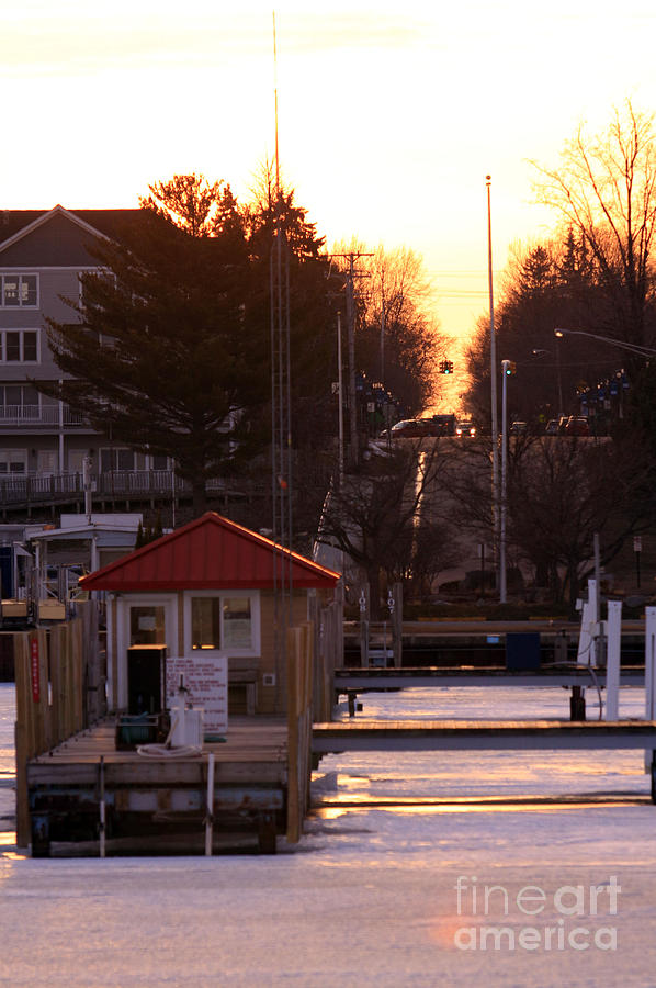 Lexington Photograph - Lexington Harbor by Kathy DesJardins