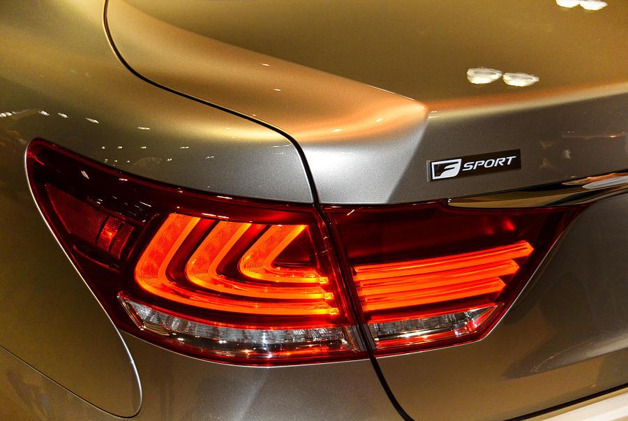 Lexus Photograph - Lexus Ls 460 F Sport Tail Light by Mike Martin