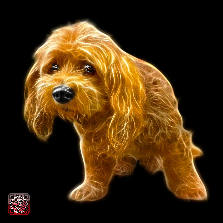 Lhasa Apso Pop Art - 5331 - bb by James Ahn