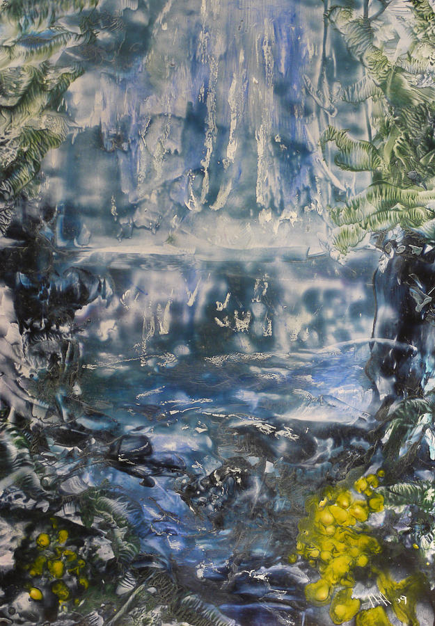 Waterfall Painting - Libby by Heather Hennick