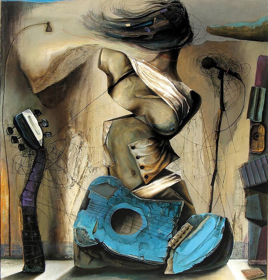 Liberation Painting by Vakho Kakulia
