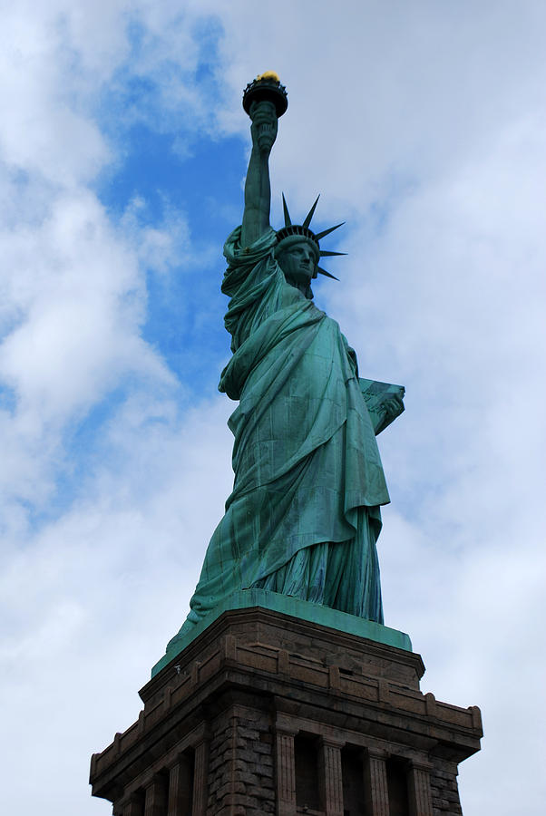 New York Photograph - Liberty 2 by Lorena Mahoney