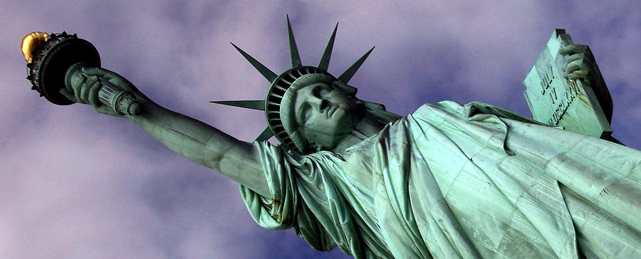 New York Photograph - Liberty 2 by William  Todd