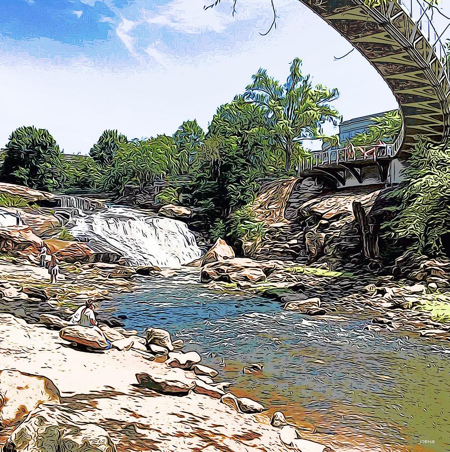 Liberty Bridge Digital Art