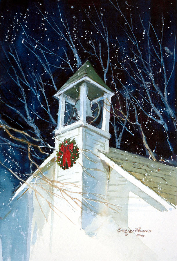 Liberty Christmas Painting by Charles Rowland