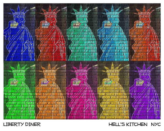 Nyc Photograph - Liberty Diner by New York City Artist - Alexander Aristotle