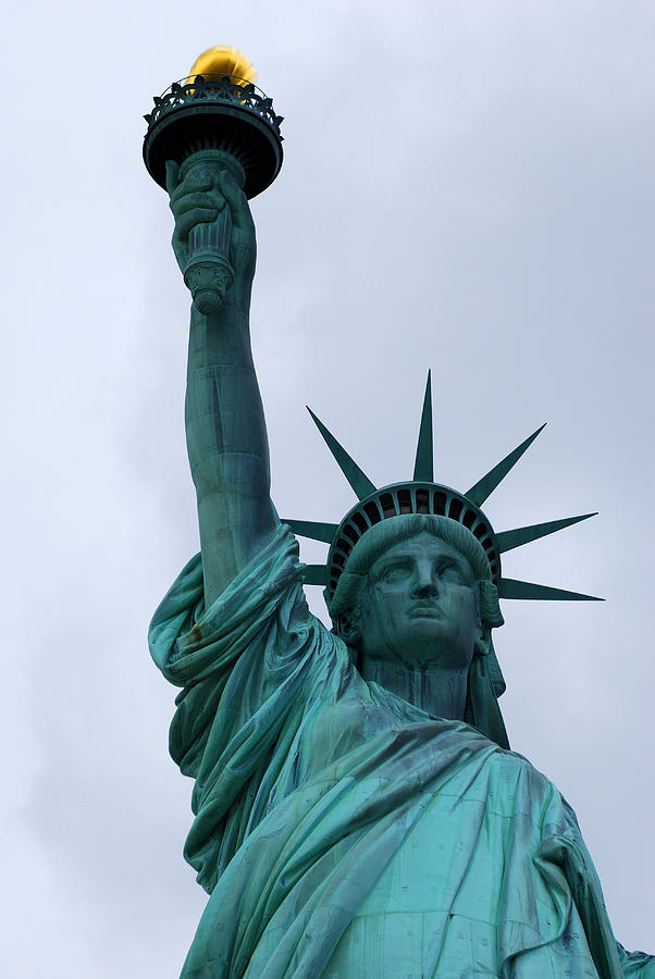 New York Photograph - Liberty by Lorena Mahoney