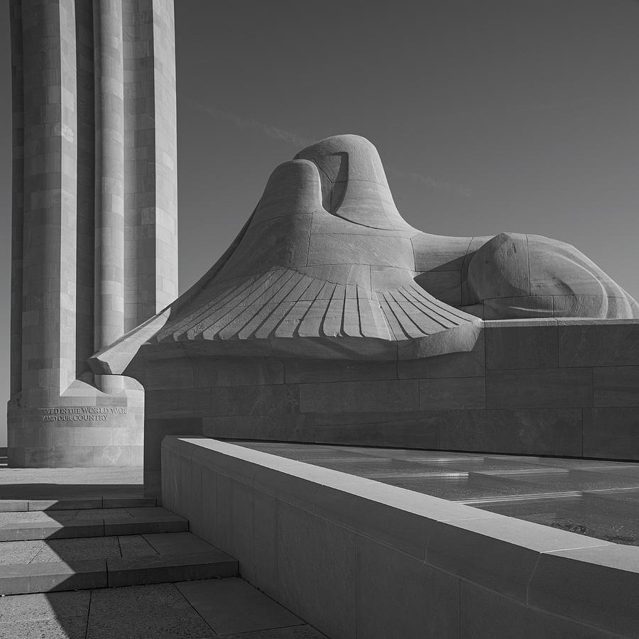 Liberty Memorial Photograph - Liberty Memorial Kansas City Missouri by Don Spenner