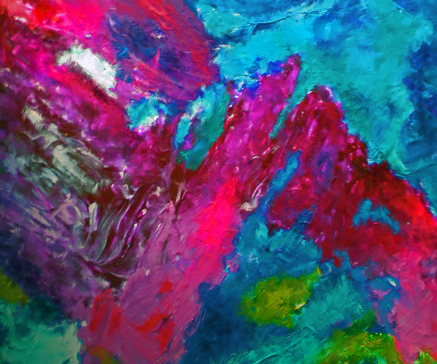 Abstract Painting - Liberty by Michael Durst