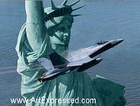 Statue Of Liberty Print - Liberty Rising by Dru Blair