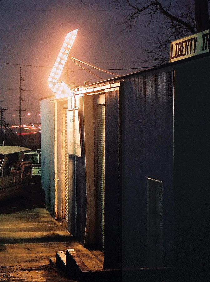 Night Scene Photograph - Liberty by Steve Karol