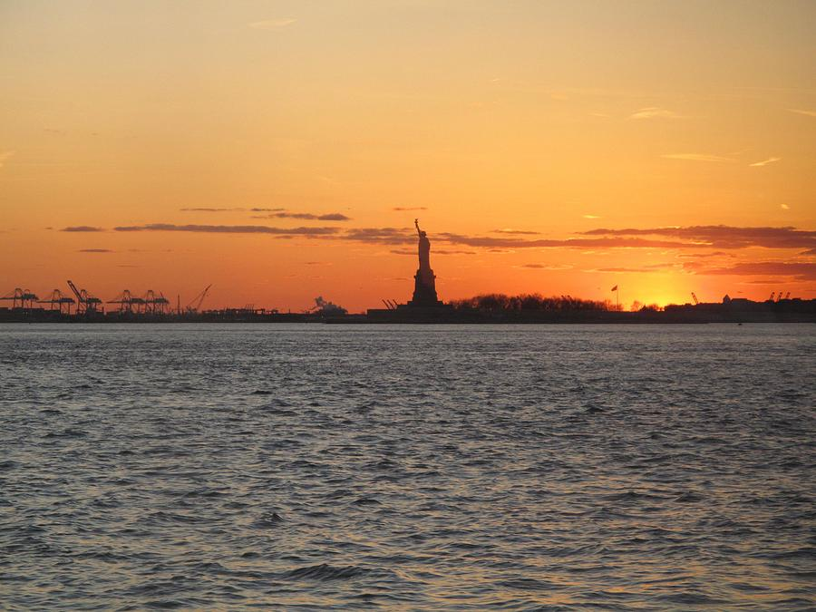 Liberty Sunset Photograph