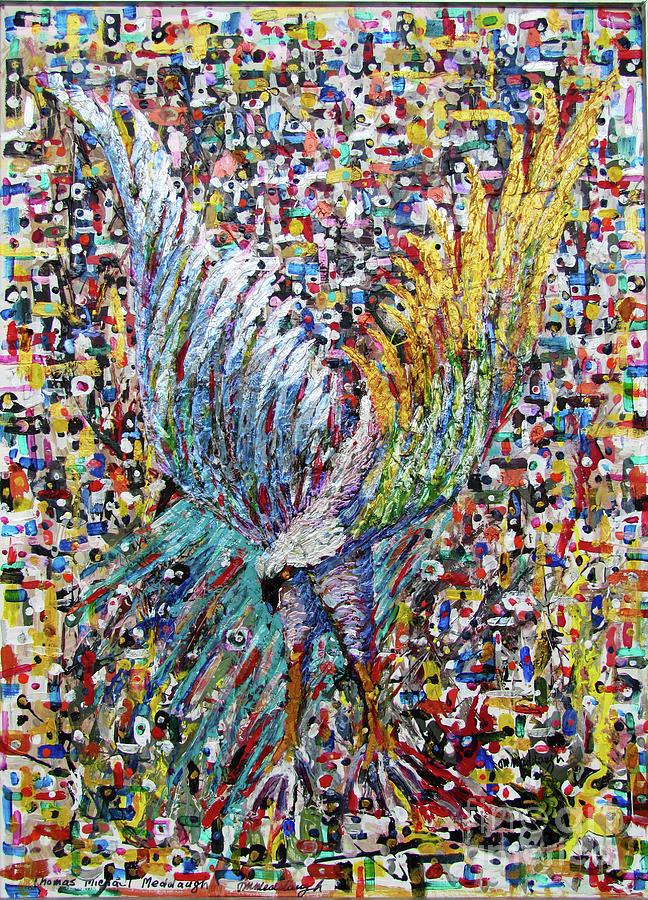 Raptor Painting - Liberty by Thomas Michael Meddaugh