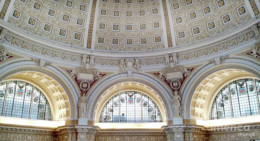 Washington Photograph - Library Of Congress 1 by E B Schmidt