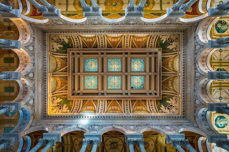 Washington Photograph - Library Of Congress II by Robert Davis