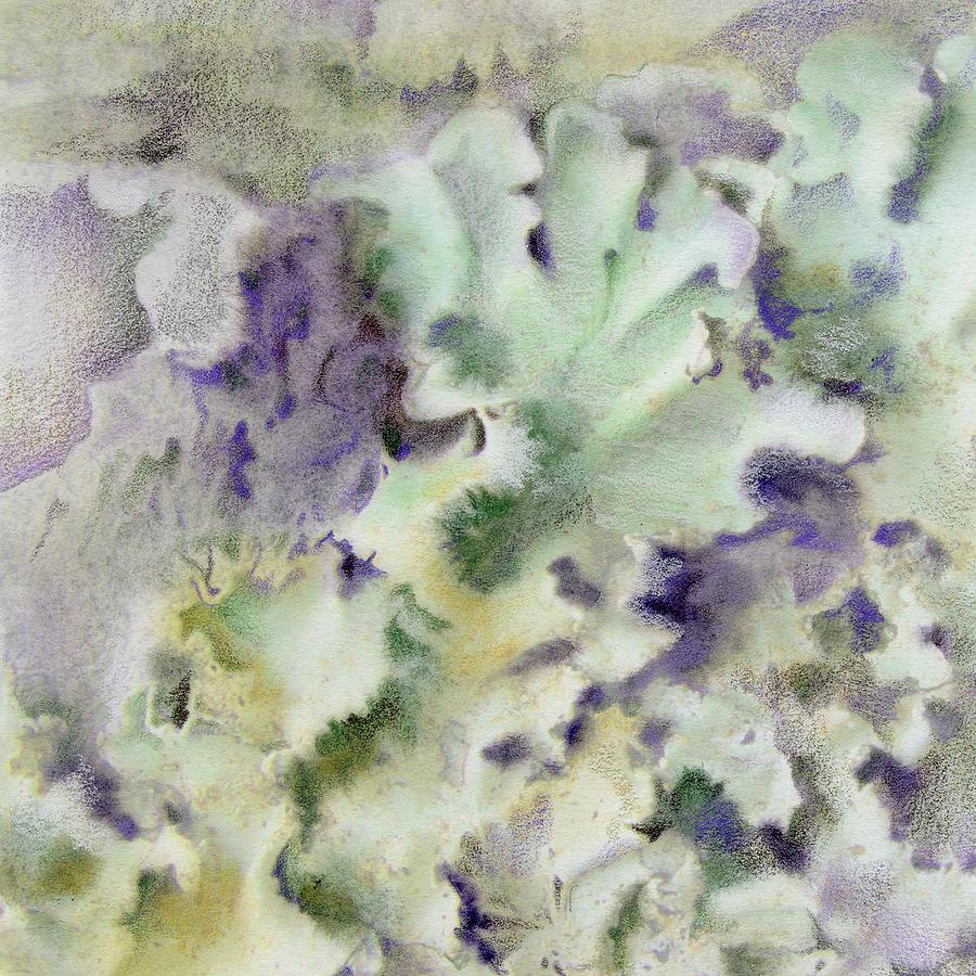 Lichen Painting - Lichen by Mindy Lighthipe