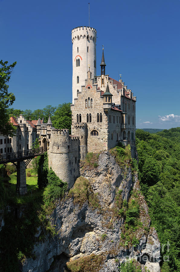 Lichtenstein Castle Photograph - Lichtenstein Castle by Yair Karelic