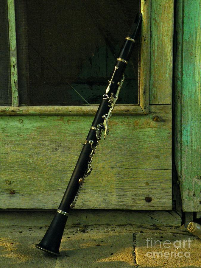 Clarinet Photograph - Licorice Stick by Joe Jake Pratt