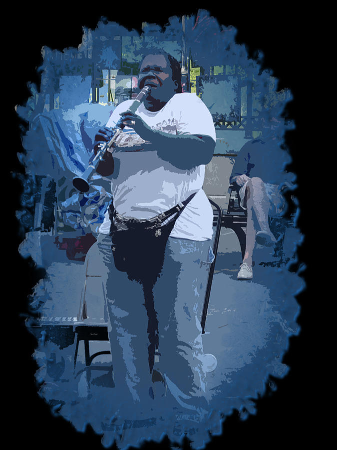 New Orleans Photograph - Licorice Stick Soul by Linda Kish