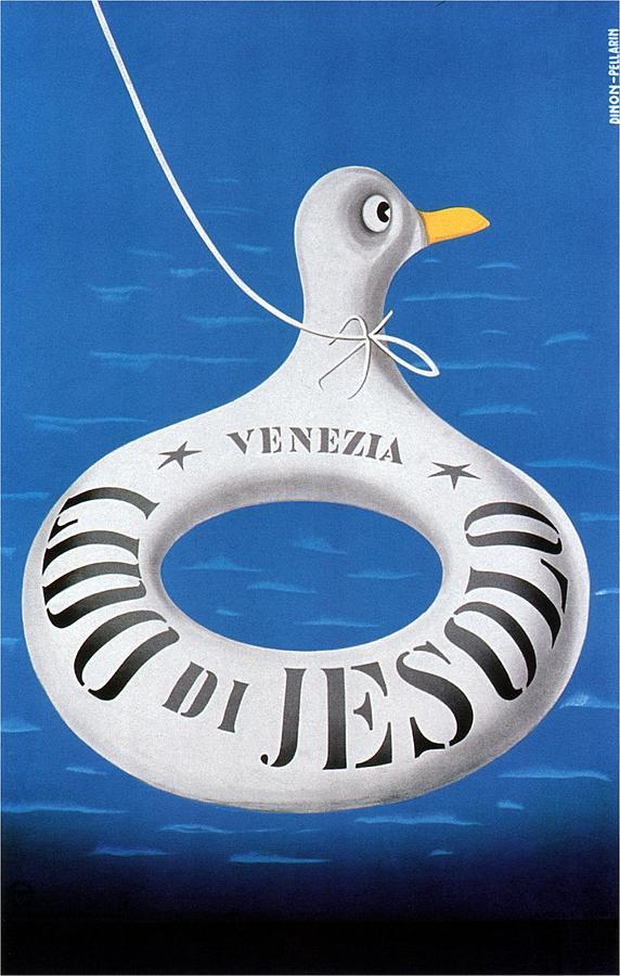 Lido Di Jesolo - Venezia - Retro Travel Poster - Vintage Poster Mixed Media