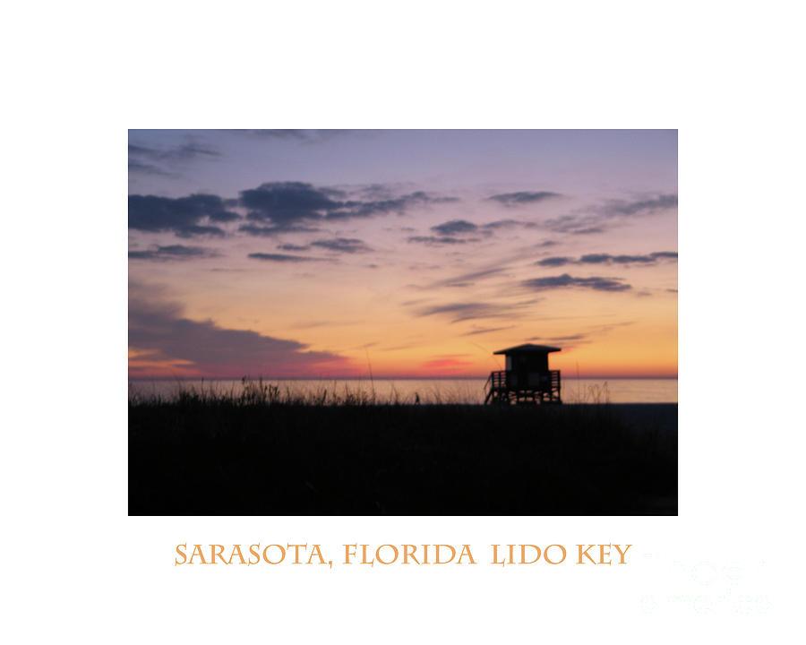 Lido Key Digital Art - Lido Key Sunset by Karen Francis