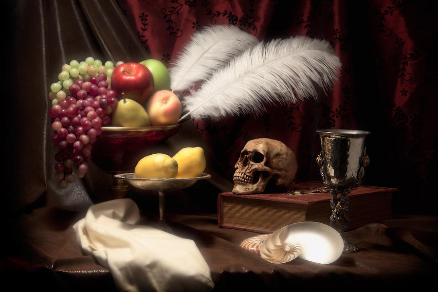 Abundance Photograph - Life And Death In Still Life by Tom Mc Nemar