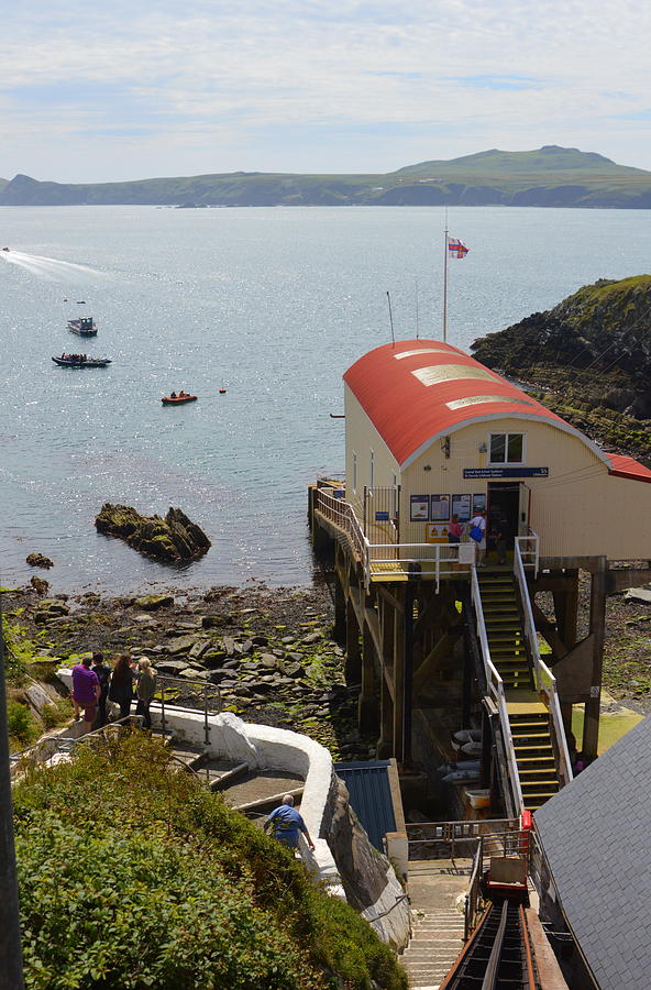 Life Boat Photograph - Life Boat Station by Andy Thompson