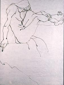 Pen And Ink Drawing Drawing - Life Drawing 01 by Denise Urban