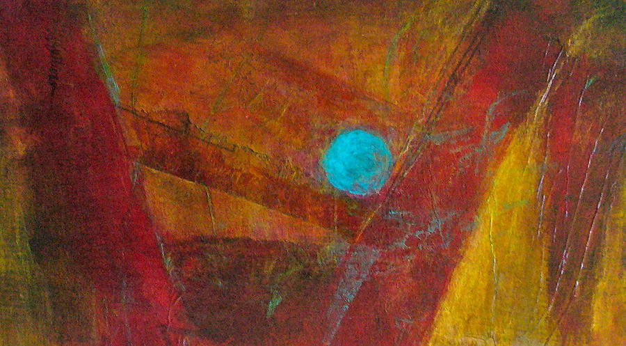 Abstract Painting - Life Force by Mary Sullivan